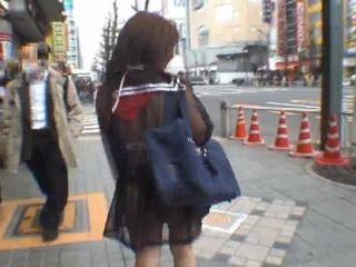 Mikan astonishing الآسيوية تلميذة enjoys جمهور