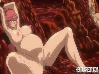 fun risanka scene, hentai ukrepanje, svež toon
