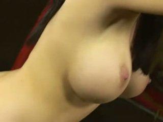 zien brunette thumbnail, mooi orale seks klem, vaginale sex