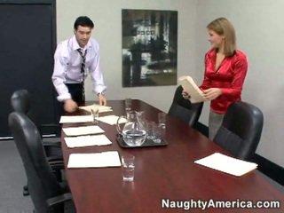 mehr hardcore sex, sie büro-sex, beobachten sekretärin schön