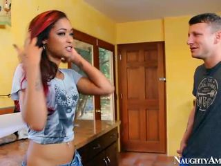 Darky Skin Diamond Sit Onto Schlong Onto Dirty America