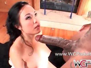 Asian slut Katrina Ko fucked with a huge cock