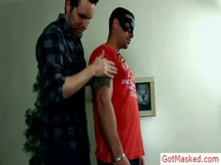 Muscled And Tattooed Hunk Gets Troked By Gotmasked