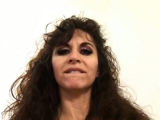 tits, brunette, condom, melons