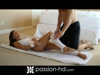 Sexy aerobic trening