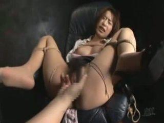 nominale japanse, controleren rechtdoor kanaal, vol dildo seks