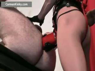 meer speelgoed video-, kwaliteit anaal scène, heet femdom neuken