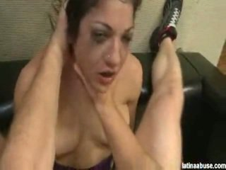 Selena Skye Is A Sensuous Spanish Female Who Is About To Experience Her First Ever Time Having An Anal Whoopin'. I Was Surprised At A Amount Of Abuse She Could Take. We Shoved A Foot Long Sex Toy