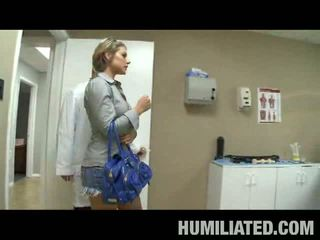Milf Humiliation: Blonde pornstar babe gets humiliated and fucked