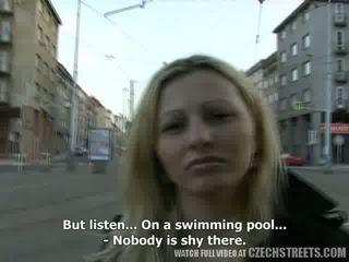 Czeska streets - ilona takes kasa na publiczne seks wideo