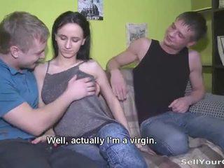 Vene teismeline elena sisse a perversne seks mäng