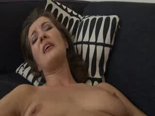 Brutal babes fisting on the sofa