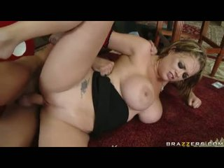 Breasty Babe Katie Kox Gets A Hot Load Of Cum After A Nice Hard Fuck