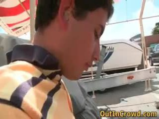 נוער homosexual אנאלי opening זיון ב ציבורי 2 על ידי outincrowd