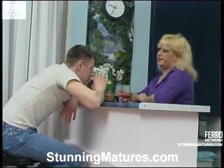 Famous Pornstars Martha, Emilia, John From Stunning Matures Getting Dirty