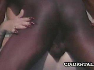 Lynn lemay retro blondie pleasing a črno dong