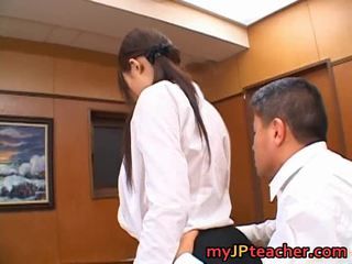 Junna Aoki Thrilling Japanese School Teacher