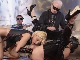 hq groepsseks video-, hoorndrager seks, meer anaal film