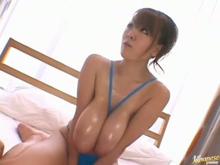Hitomi Tanaka is a hot Asian milf with big tits