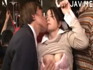 check brunette real, japanese, cumshot