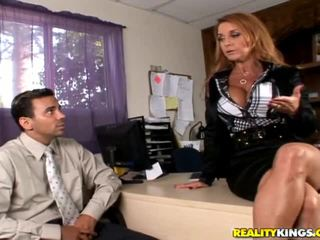 redhead, office sex thumbnail, any big cock film