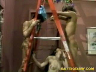 online neuken op tit porno, retro porno, een vintage sex klem