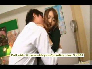Mihiro od idol69 azijke najstnice rjavolaska gets licked