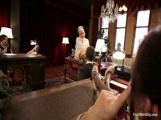 The เท้า fetishists ฝัน มา จริง เท้า เหนือกว่า, คลาสสิค nylons, sweaty เท้า sniffing, เท้า สิ่งของที่ทำให้มีอารมณ์ เพศ และ 30 นิ้วเท้า!
