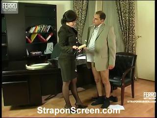 fetten arsch, nenn strapon sex frisch