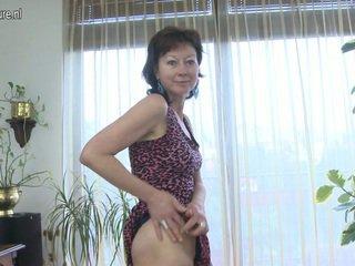 volwassen film, euro porn, kijken aged lady thumbnail