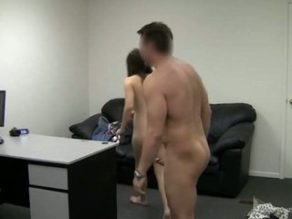 Blue eyed angel gets assfucked