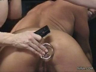Julie Knight Engulf Smut Toy While Having Finger
