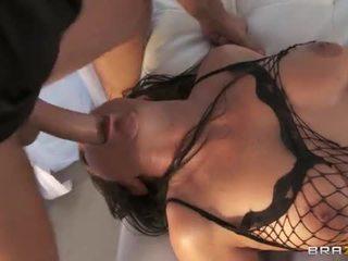 Vanessa blake zadok pounded v fishnets