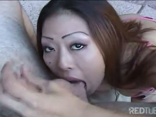 Asian licking balls by the jacuzzi