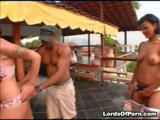 Patricia And Sara Santos Two Charming Latin Babe Babes That An
