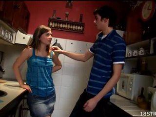 tiener sex, nieuw amateur teen porn, boren teen pussy neuken