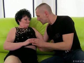 real granny scene, free moms and boys