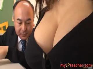 japanse, grote borsten, pijpbeurt, pornstar