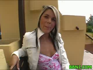 Neat girl spreads legs to get cunt fucked