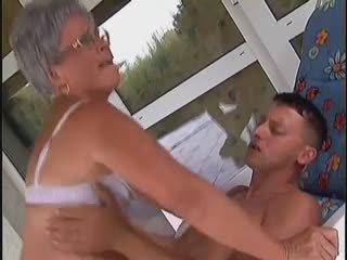 vol grannies, groot oude + young, u hardcore
