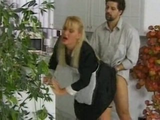 French Maid - Anal Sex In Kitchen