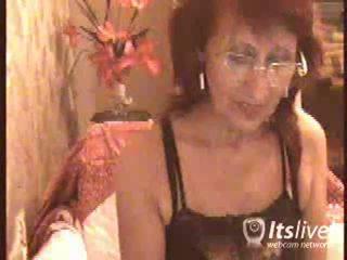 volwassen, aged lady, ervaren vrouwen