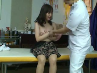 Spycam captures a Reluctant Asian Wife seduced by her masseur
