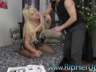 Sexy Carrie Beasley Ripped Up & Forced Raped (HD) ForceVideos.com