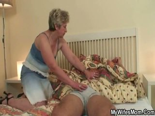 She Makes Love Her Son In Law As He Sleeps