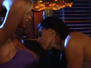 Awesome Blonde Brooke Biggs Sucking Mikaylas Perky Tits