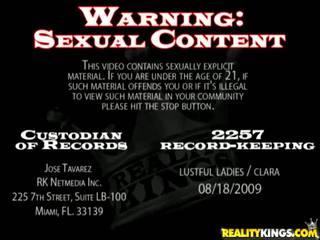 Porn Harlots Clara G And Danielle Derek Have Sex