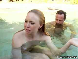 Underwater sex... all for money