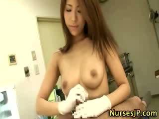 japanse, een exotisch, vol verpleegkundigen video-