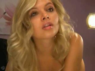 Blond Slut With Dildo